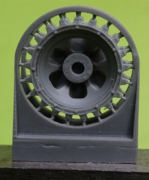 1/72 Sprockets for Pz.III, late with hub cap