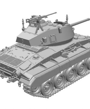 US Light Tank M24 Chaffee (Early Production), Pre-Order Phase II