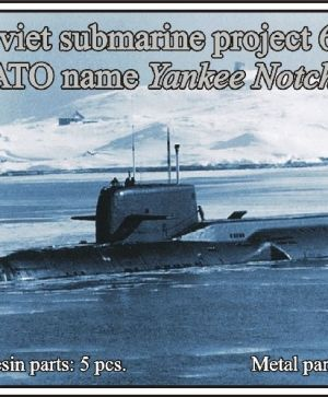 Soviet submarine project 667 AT Grusha (NATO name Yankee Notch)