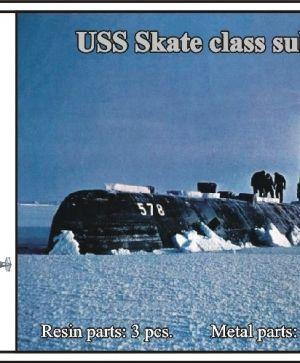1/700 USS Skate class submarine