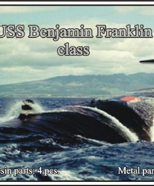 1/700 USS Benjamin Franklin class submarine