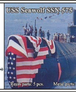 1/700 USS Seawolf SSN-575