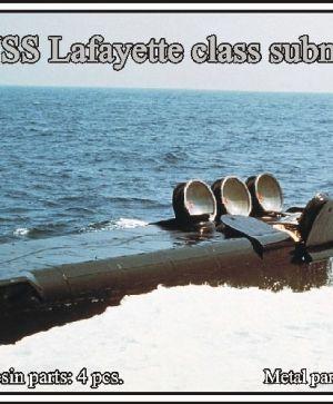 1/700 USS Lafayette class submarine