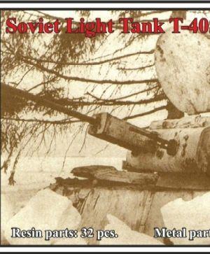 Soviet Light Tank T-40S