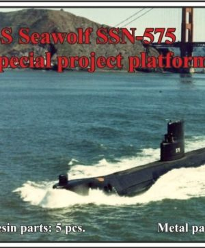 "1/700 1/700 USS Seawolf SSN-575, ""Special project platform"""