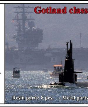 Swedish submarine class Gotland