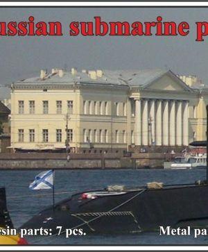 1/350 Russian submarine project 677 Lada