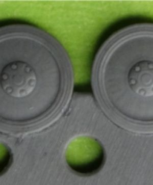 1/72 Wheels for Pz.II