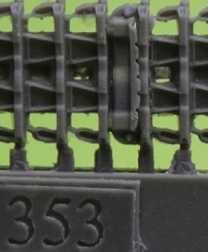 1/72 Tracks for Pz.III/IV, type 1 with additional grousers
