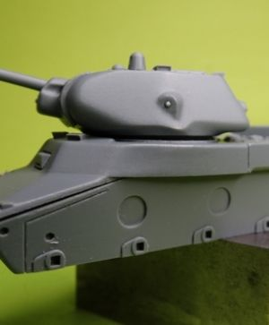 1/72 Soviet Heavy Tank KV-13, early