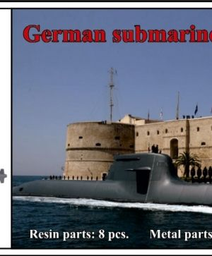 1/700 German submarine Type 212