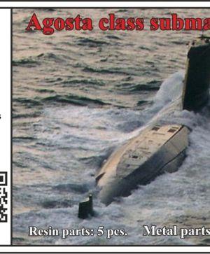 1/700 Agosta class submarine