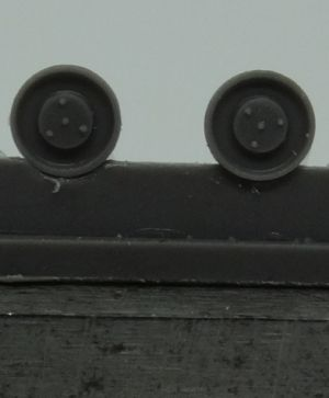 1/72 Return rollers for Pz.IV, type 1