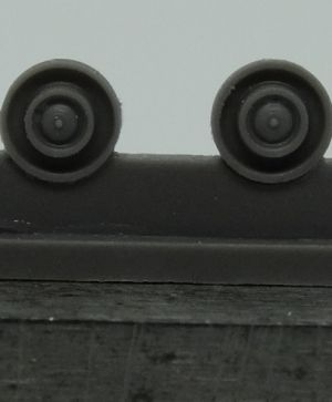 1/72 Return rollers for Pz.IV, type 2