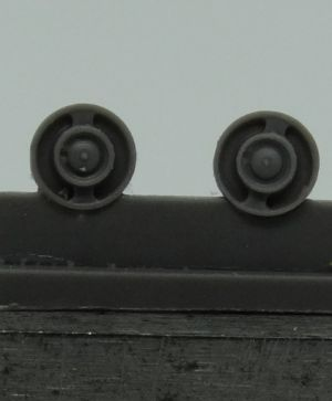 1/72 Return rollers for Pz.IV, type 4