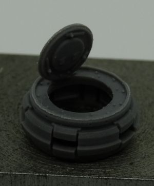 1/72 Return rollers for Stug, type 1