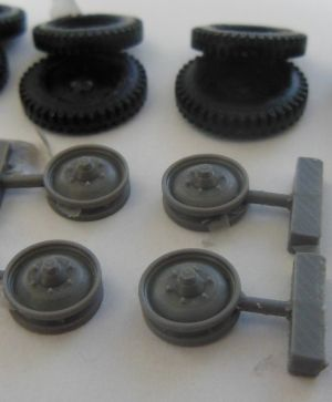 1/72 Wheels for VK.30.01H and Sturer Emil