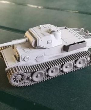 1/72 German Heavy Tank VK.3601(H)