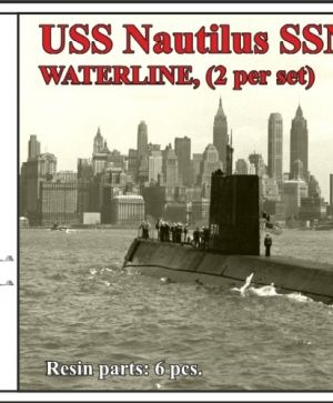 USS Nautilus SSN-571,WATERLINE, (2 per set)