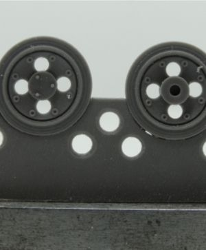 1/72 Wheels for Pz.III, early