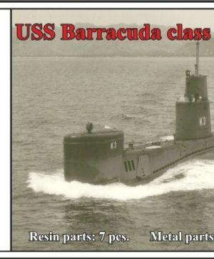 USS Barracuda class submarine