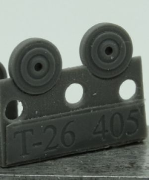1/72 Wheels for T-26, middle