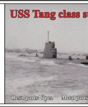 1/700 USS Tang class submarine
