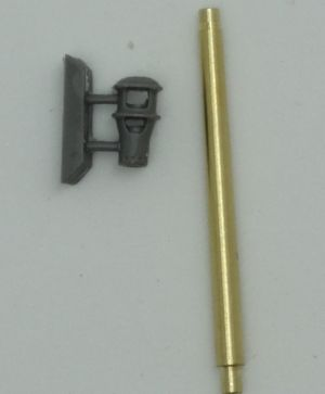 1/72 Metal barrel for 7.5 cm KwK 40 L/48, with muzzle brakes type 1