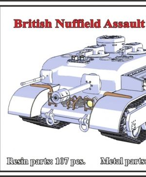 1/72 British Nuffield Assault Tank A.T.8