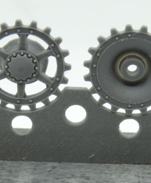 1/72 Sprockets for Pz.IV ausf. E