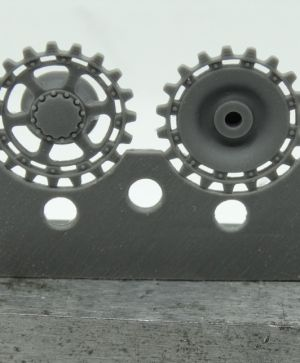 1/72 Sprockets for Pz.IV ausf. A/B/C/D