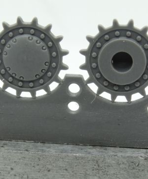 1/72 Sprockets for KV-1/2, Leningrad August - Octomber 1941
