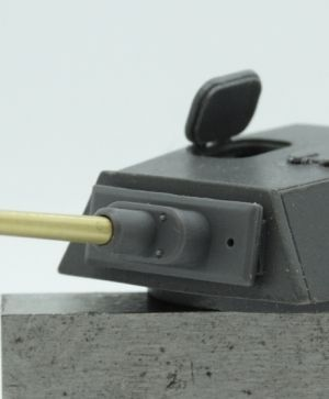 1/72 Turret for Pz.V Panther Ausf. F, Rheinmetall proposal