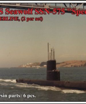 "USS Seawolf SSN-575, ""Special project platform"",WATERLINE, (2 per set)"