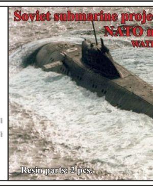 Soviet submarine project 671 Yorzh (NATO name Victor I),WATERLINE, (2 per set)