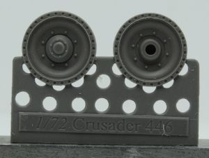 1/72 Wheels for Crusader and Covenanter, type 1