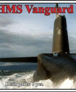 HMS Vanguard class submarine,WATERLINE, (2 per set)