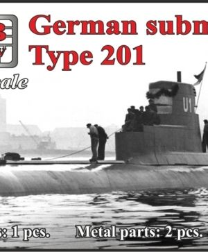 1/700 German submarine Type 201