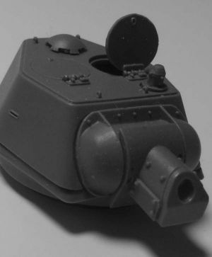 1/72 Turret for Pz.VI Tiger H2