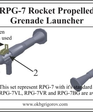 RPG-7 Rocket Propelled Grenade Launcher
