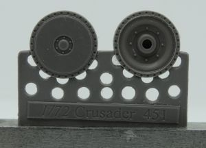 1/72 Wheels for Crusader and Covenanter, type 4