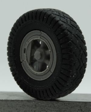 1/72 Wheels for Sd.Kfz.9 FAMO, type 1