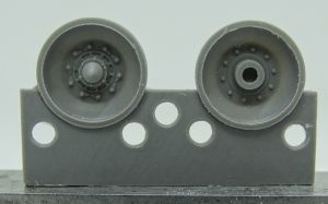 1/72 Wheels for Challenger 2, type 2