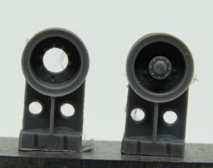 1/72 Wheels for HEMTT, Mochelin XLZ