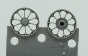 1/72 Wheels for Merkava Mk.I/II, type 2