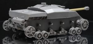 1/72 German Self Propelled Anti-Tank Gun Pz.IV mit 7.5 cm Stu.G.40