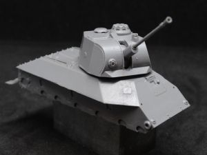 1/72 Soviet Light Tank T-50, with Savin's air defense turret