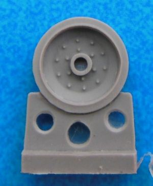 1/72 Wheels for T-34,10 bolts, late production,smooth bandage