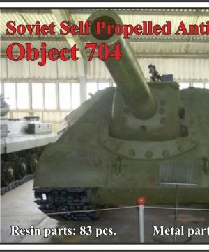 Soviet Self Propelled Anti-Tank Gun Object 704