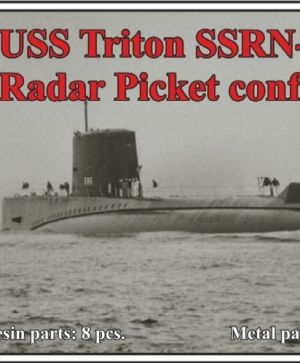 1/700 USS Triton SSRN-586, Radar Picket configuration